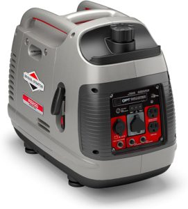 Briggs & Stratton P2200 PowerSmart Series Inverter Generator with Quiet Power Technology and Parallel Capability