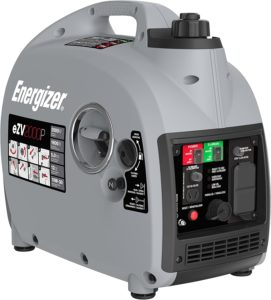 Energizer eZV2000P 2000W Gas Powered Portable Inverter Generator with Parallel Capability