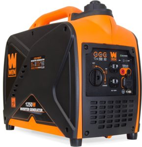 WEN 56125i Super Quiet 1250-Watt Portable Generator