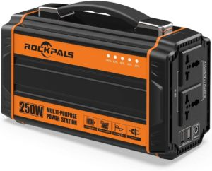 Rockpals 250-Watt Solar Powered