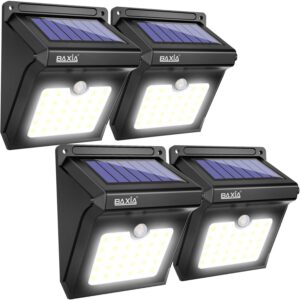 Baxia Technology Solar Motion Sensor Lights