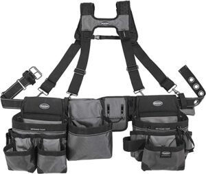 Bucket Boss Mullet Buster 3 Bag Tool Belt