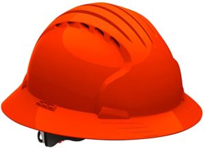 Evolution Deluxe Full Brim Hard Hat with HDPE Shell