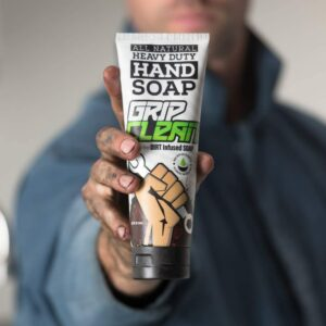 Grip Clean   Hand Cleaner for Auto Mechanics - Heavy Duty Pumice Soap