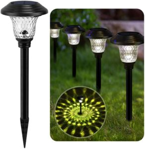 BEAU JARDIN Solar Lights Pathway Outdoor