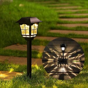 Maggift 8 Lumens Solar Pathway Lights