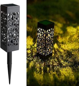 Maggift Solar Powered LED Garden Lights