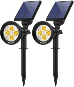 Nekteck Solar Powered Garden Spotlight