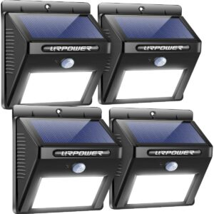 URPOWER Solar Lights Outdoor