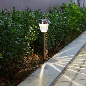 Voona Solar LED Outdoor Lights Pathway Landscape Lights