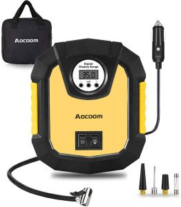Aocoom 12V Portable Air Compressor