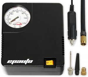 EPAuto AT-006-3 12V Car Portable Air Compressor