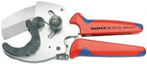 KNIPEX Tools PVC Pipe Cutter with Multi-Component Design